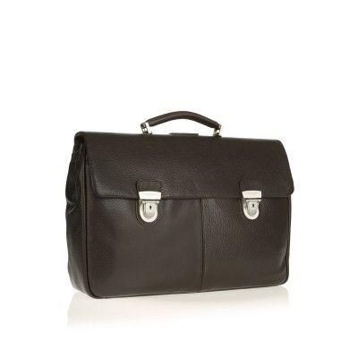 AG Spalding & Bros - Cartella Due Tasche Vermont Marrone