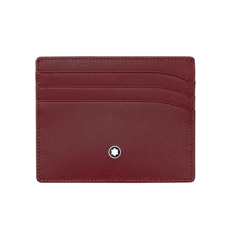 Montblanc - MST Pocket 6 scomparti Burgundy