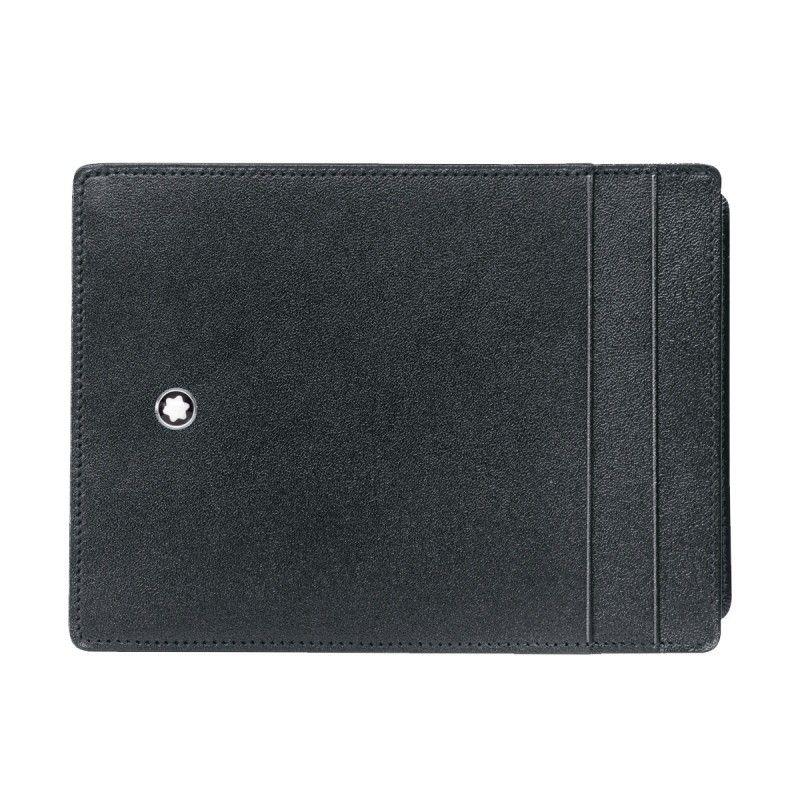 Montblanc - Custodia tascabile 4 scomparti Meisterstück con portadocumento