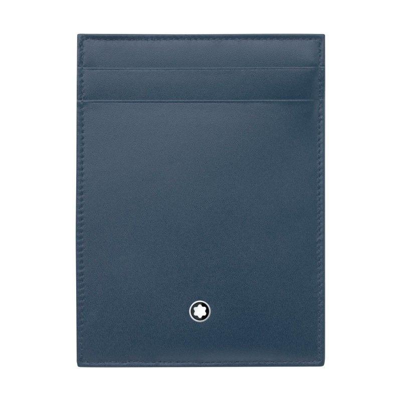 Montblanc – Custodia tascabile 4 scomparti Meisterstück con portadocumento