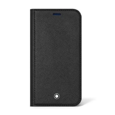Montblanc - Custodia a portafoglio Saffiano per iPhone 13