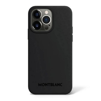 Montblanc - Cover in silicone con MagSafe per iPhone 13