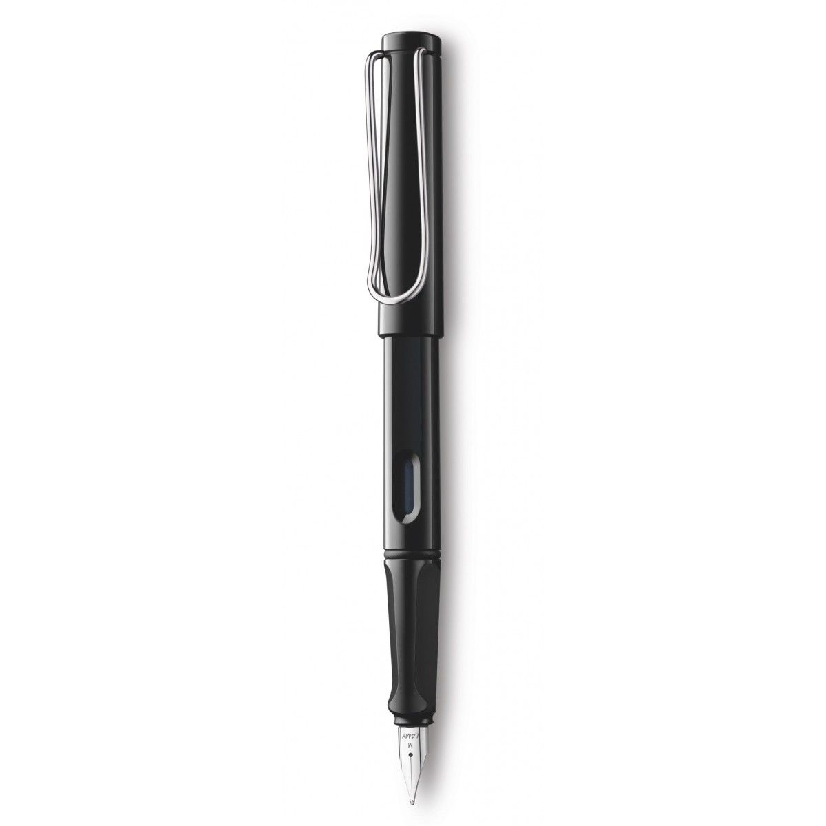 safari black fountain pen